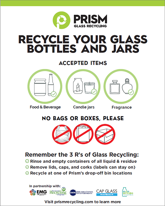 Glass Recycling Flyer