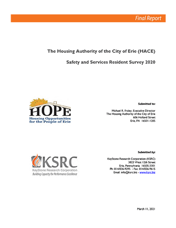 2020 HACE Safety and Services Evaluation Report